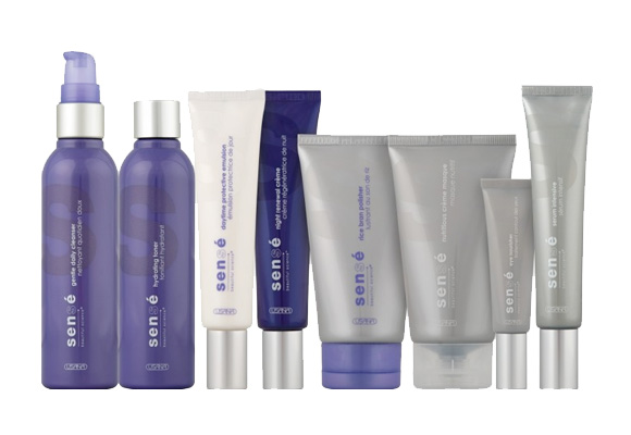 USANA Sensé Deluxe Pack with Serum - Ensemble de luxe Sensé image
